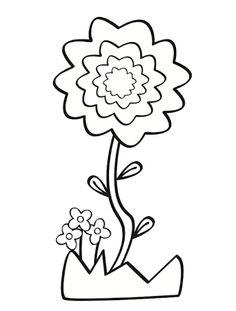 1000+ images about Flores para colorear on Pinterest