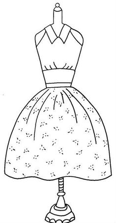 1000+ images about Dibujos vestidos on Pinterest