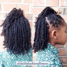 Flat Twist Hairstyle For Kids Blackhairinformation