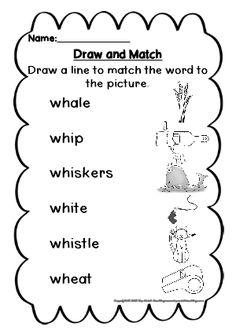 ph, ch, th, ll, ck, wh, tch, ng consonant digraph