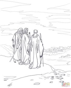 1000+ images about The Emmaus Disciples; Mark 16:12-13