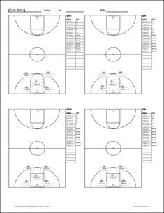 basketball court diagram with notes thermostat wiring air conditioner practice plan | template sample plays pinterest and templates