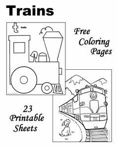 1000+ images about Train Coloring Sheets on Pinterest