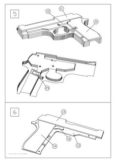 Blowback rubber band gun plans pdf