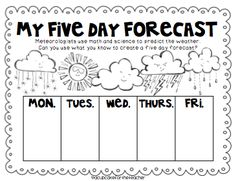 1000+ ideas about Weather Lesson Plans on Pinterest