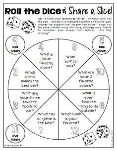 Use this activity as an ice breaker for the first week of