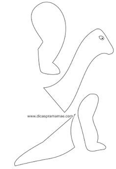 Dinosaur footprints pattern. Use the printable pattern for