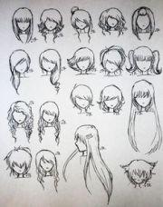 anime male hair styles