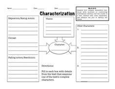 Graphic organizers, Language arts and Organizers on Pinterest