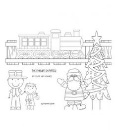 Coloring sheets, The o'jays and The polar express on Pinterest