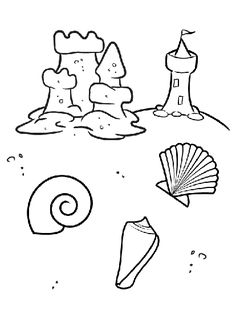 FREE PRINTABLE: Color all these fun under-the-sea