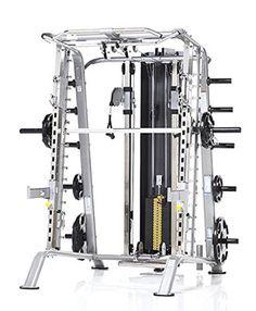 10. Tuff Stuff Fitness Evolution Smith Machine and Half