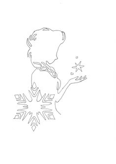 Frozen silhouette, Silhouette and Elsa on Pinterest