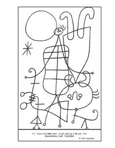 1000+ images about #60a Miro: People and Dog In The Sun on