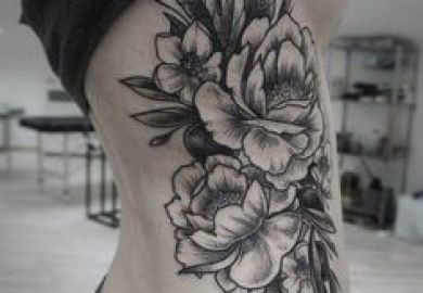 50 Peony Tattoo Designs And Meanings Tatouage Pivoines