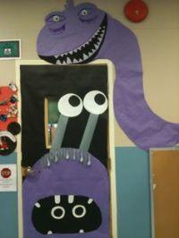Halloween Monster Doors on Pinterest | Monster Door ...