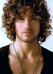 ash brown curly hair color