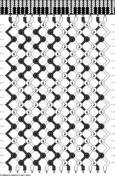 1000+ images about Friendship Bracelet Patterns (Hard) on