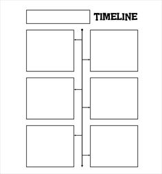 4 panel storyboard template for nature field journal