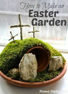 DIY Easter Project Make A Resurrection Garden Gardens Projects
