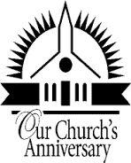 Church Anniversary Invitation custom name / year / photo