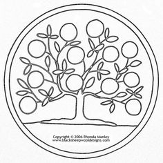 Crewel embroidery, Tree of life and Of life on Pinterest