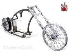 Softail Pro Street Fat 250 Custom Rolling Chassis for