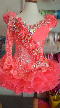 Things for my girls on Pinterest  Kindergarten Graduation Beauty Pageant and Glitz Pageant Dresses