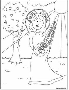 Mary and the Wonderful Story of the Annunciation--For Kids
