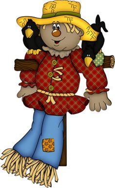 teddy bear scarecrow clip art