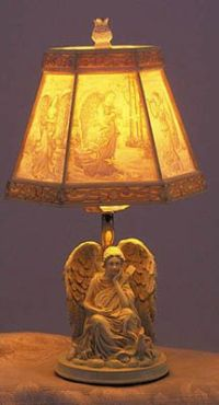 1000+ images about angel lamps on Pinterest | Lamps, Angel ...