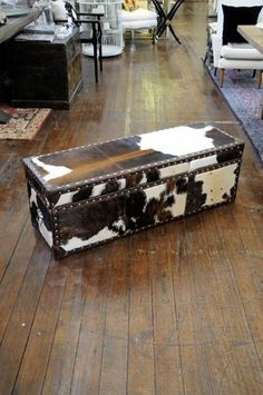 Cowhide Upholstered Furniture on Pinterest  Cowhide Chair