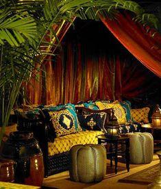Pretty Moroccan Living Room Design Home Beautiful Spaces