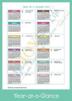 FREE 2014 Blog Plann
