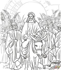 4-jesus-arrested-in-the-garden-of-gethsemane-coloring-page