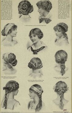 Hair Ornaments 1911 Lacy Girly Stuff Pinterest Hair Style