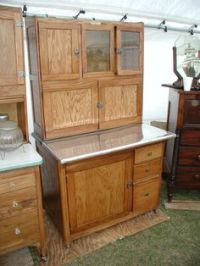 Vintage Early 1900's SELLERS Kitchen Hoosier Cabinet with ...