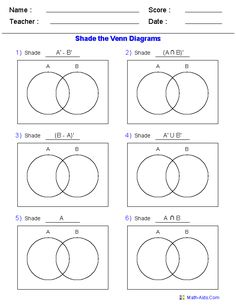 venn diagram logic problems worksheets auto electrical wiring diagram