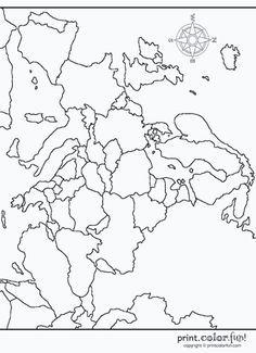 Print and color this map of Eastern Europe in the Middle