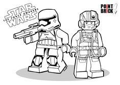 Coloring Pages / Disegni da Colorare LEGO Star Wars