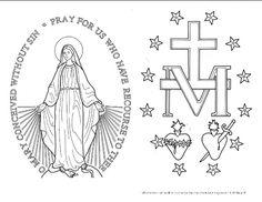 VEXILLUM LEGIONIS LEGIO MARIAE LEGION OF MARY STATUE