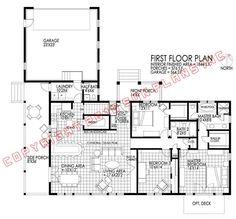 winter plan... example of passive solar house plan