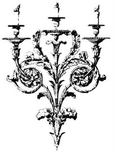 Graphics fairy, Baroque and Candle holders on Pinterest