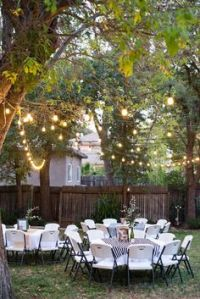pics of outdoor graduation parties | about partysavvy ...