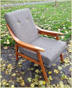 MidCentury Modern Danish lounge chair redesign Picked up