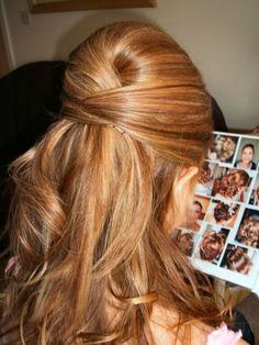 Half Up Prom Hairstyles Pinterest Ohjeet Ja Luonnollinen
