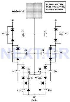 Hex beam antenna cheat sheet for ham radio. Fiberglass