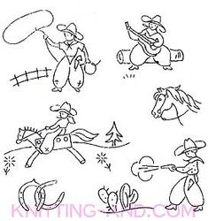 1000+ images about YEE HAW!!! Embroidery Patterns on