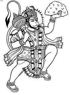 Hanuman on Pinterest