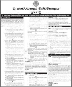 Sri Lankan Government Job Vacancies at NSBM Green
